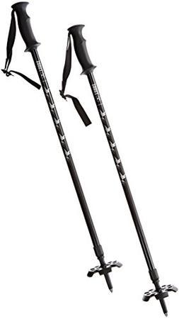 Tubbs Snowshoes 2 Part Snowshoe Poles - Black