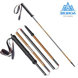 2Pcs/Pair AONIJIE Folding Running Walking Sticks Ultralight