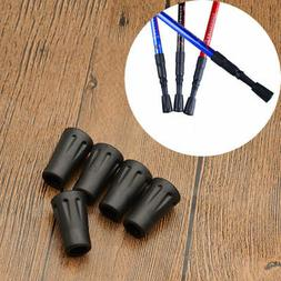 5Pcs Replacement Rubber Tips End for Walking Trekking Poles