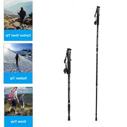 Trekking Walking Hiking Sticks Poles Alpenstock Anti-shock 3