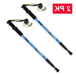 HYTX Adjustable Lightweight Aluminum Hiking Poles for Walkin