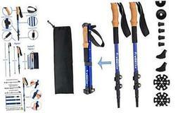 Aihoye Trekking Waling Hiking Poles Collapsible Lightweight