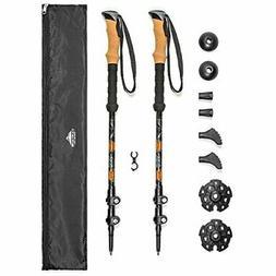 Cascade Mountain Tech Aluminum  Quick Lock Trekking Poles -