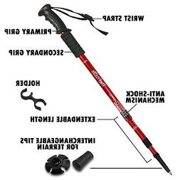 - TheFitLife Nordic Walking Trekking Poles - 2 Pack With