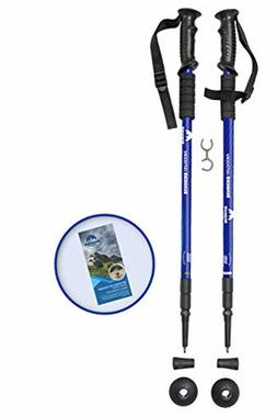 Collapsible Trekking Pole Outdoor Hiking Anti-Shock Lightwei
