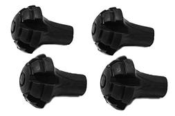 Hiker Hunger Extra Durable Rubber Tips, Paws, Ferrules: Acce