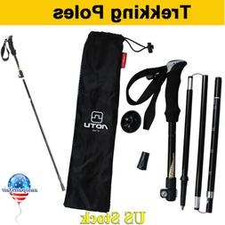 Folding Sticks Walking Trekking Pole Carbon Hiking Ultraligh
