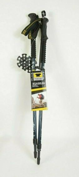Mountainsmith Glissade 7075 Trekking Poles, Twilight Blue