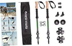 Hiker Hunger 100% Carbon Fiber Trekking Poles – Ultralight