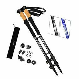 NIANYISO Hiking Poles Collapsible Lightweight, Trekking Pole