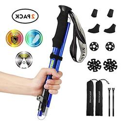 hiking poles collapsible lightweight