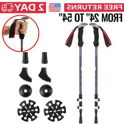 Hiking Sticks Trekking Poles for Walking Collapsible Men Wom