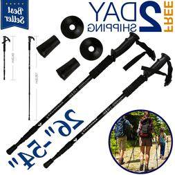 hiking sticks trekking poles for walking collapsible