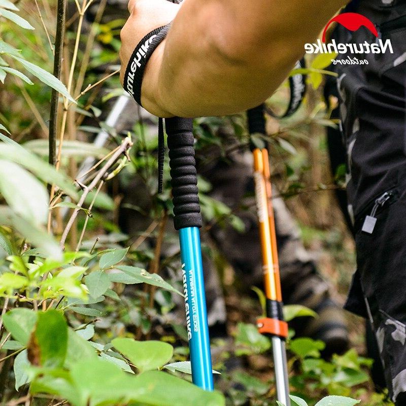 Naturehike 1pcs Child Alpenstocks <font><b>Trekking</b></font> Camping Family Alpenstocks