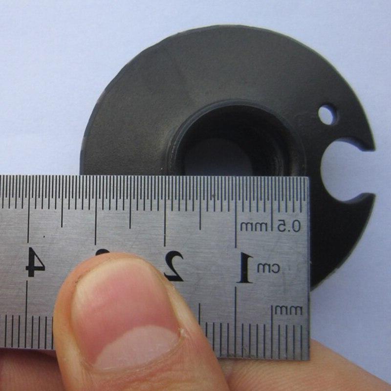 2pcs/lot Rubber Carbon <font><b>Hike</b></font> Telescope Walk Crutch