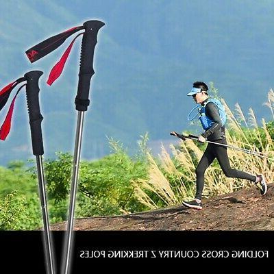 2X(AONIJIE Folding Poles Pole Walk V2I0
