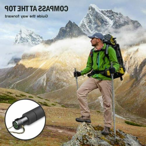 """56"""" Poles Hiking Poles Adjustable Multitool"""