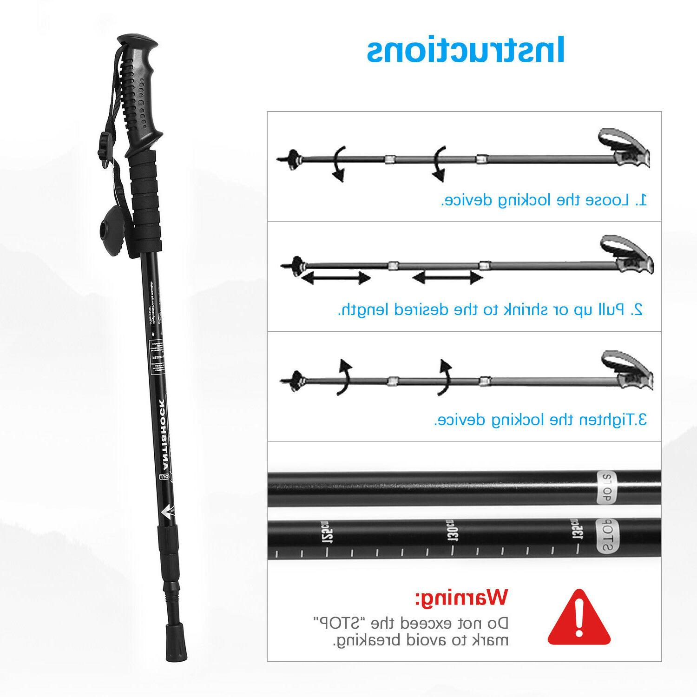 Trekking Poles Alpenstock Anti-shock Section