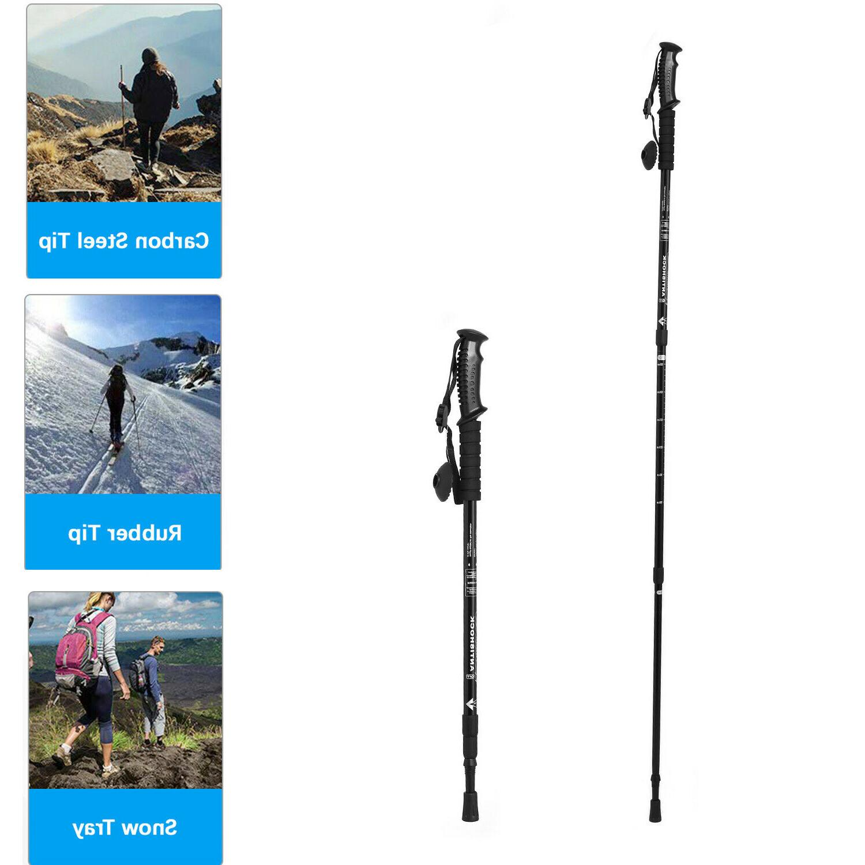 trekking walking hiking sticks poles alpenstock anti