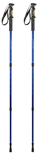 BAFX Products - 2 Pack Hiking Walking / Trekking 1 Blue, Royal Blue