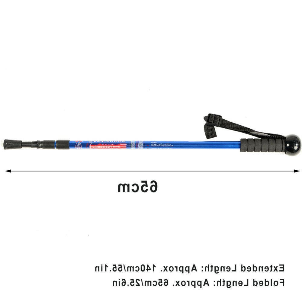 Adjustable Walking Poles w/ Camera