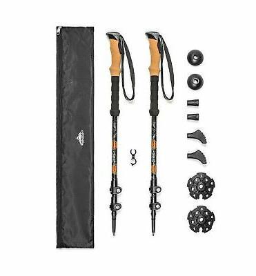 aluminim quick lock trekking poles
