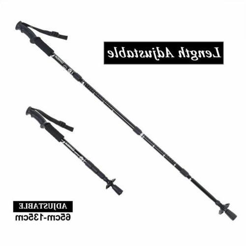 Sticks Adjustable Alpenstock anti-shock
