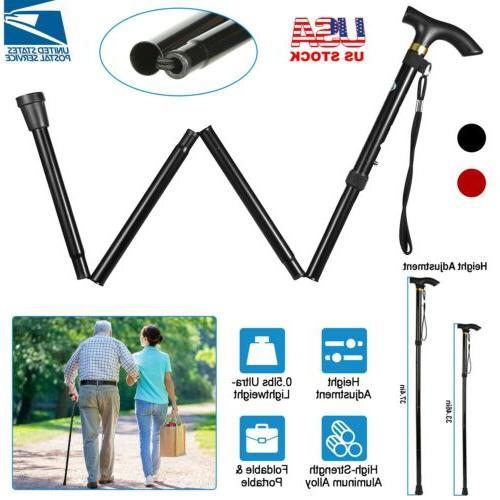 Aluminum Walking Hiking Sticks Anti Shock Trekking Poles Adj