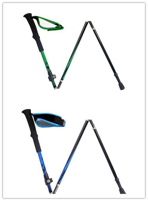 carbon fiber adjustable foldable outdoor trekking walking