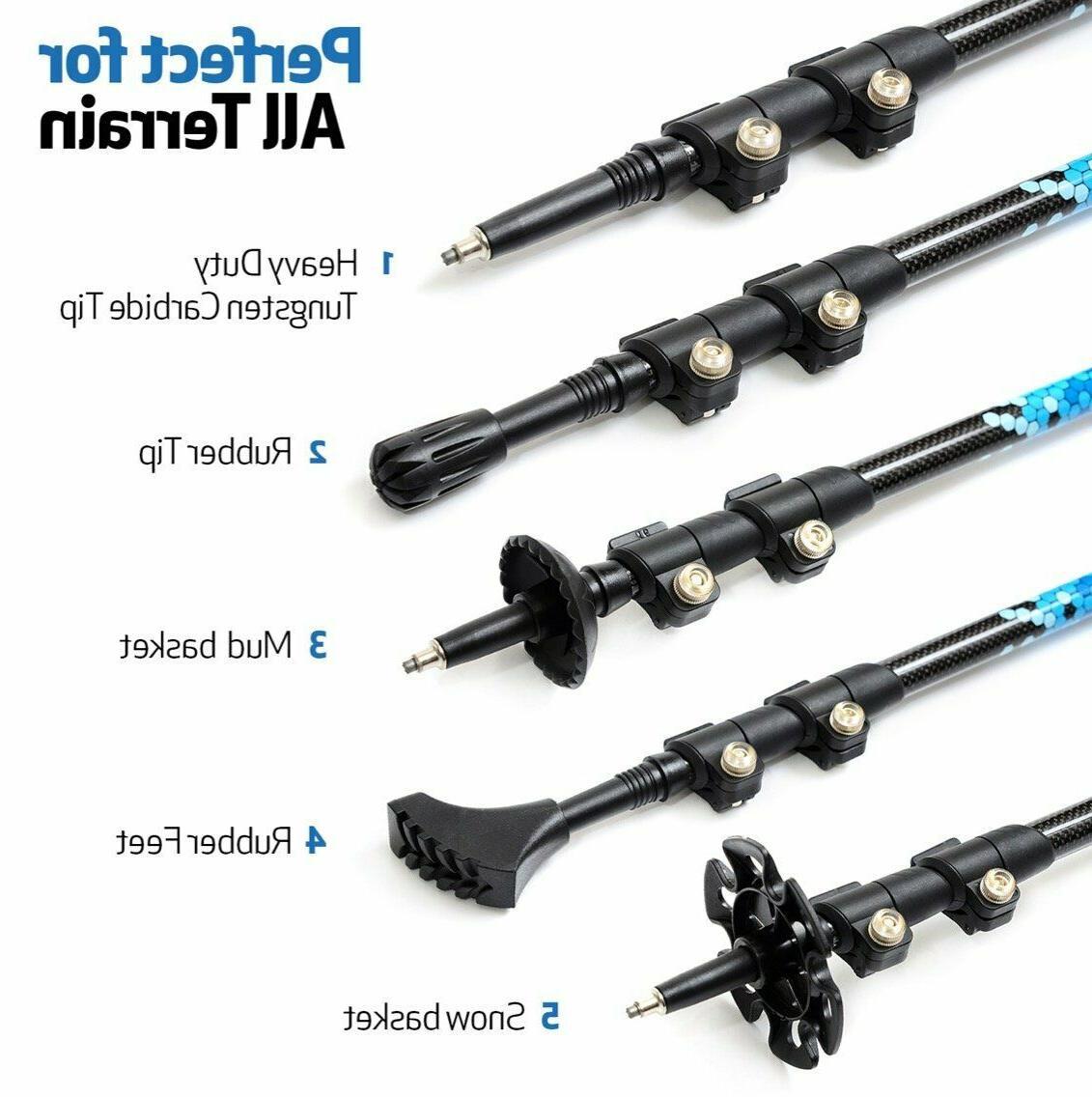 Carbon Poles - Ultra Lightweight