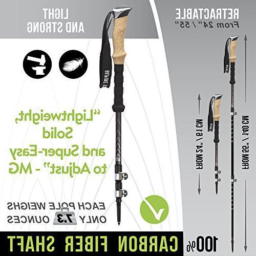 Alpine Summit 100% Fiber Grips -2 Sticks