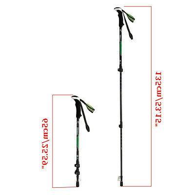 Hiking Sticks Alpenstock Anti-shock 65-135cm