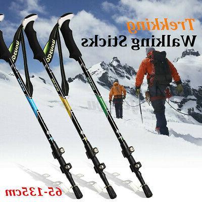 carbon fiber trekking walking hiking sticks poles