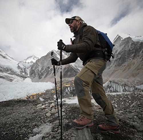 Drakon Sticks 2.0 Heavy Duty Trekking Poles Ultralight Collapsible Poles Cork Flip Locks,