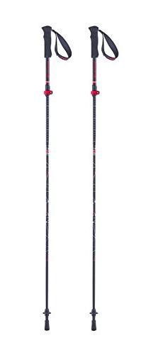 Ferrino Gran Tour Walking/Running Poles, Black, One Size