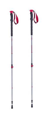 Ferrino Kamet Winter Walking Poles, White/Red, One Size
