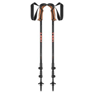 leki makalu trekking poles black