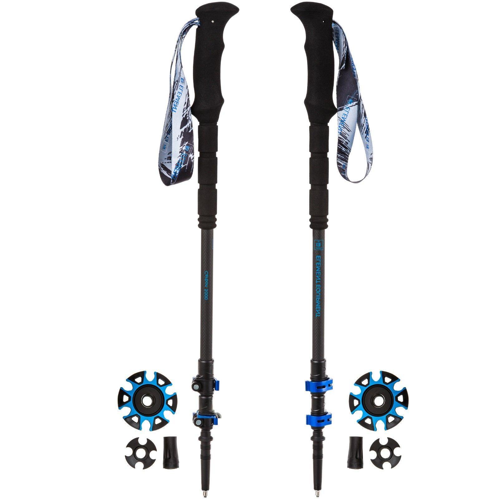 lightweight trekking poles quick lock carbon fiber