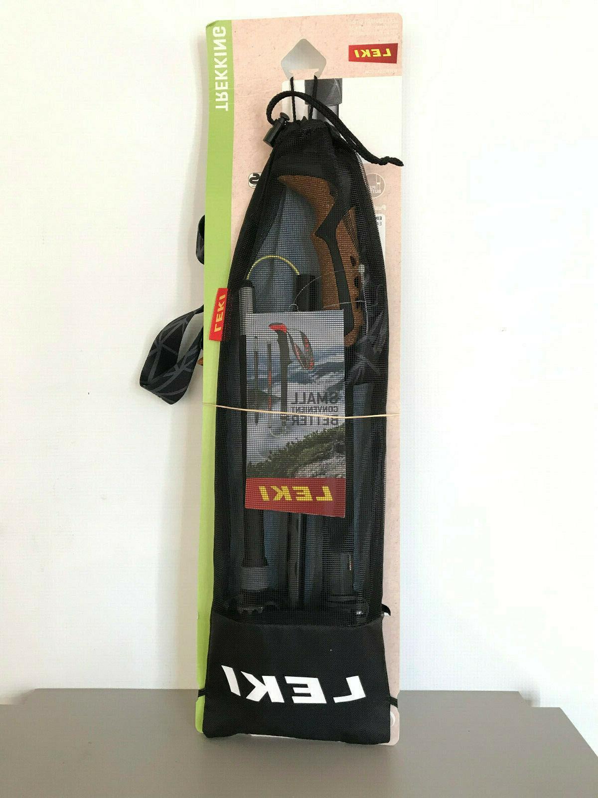NEW 2019 Leki Vario TA Anti-Shock Trekking Poles