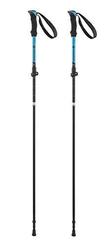 Ferrino Ortles Walking/Running Poles, Blue/Black, One Size
