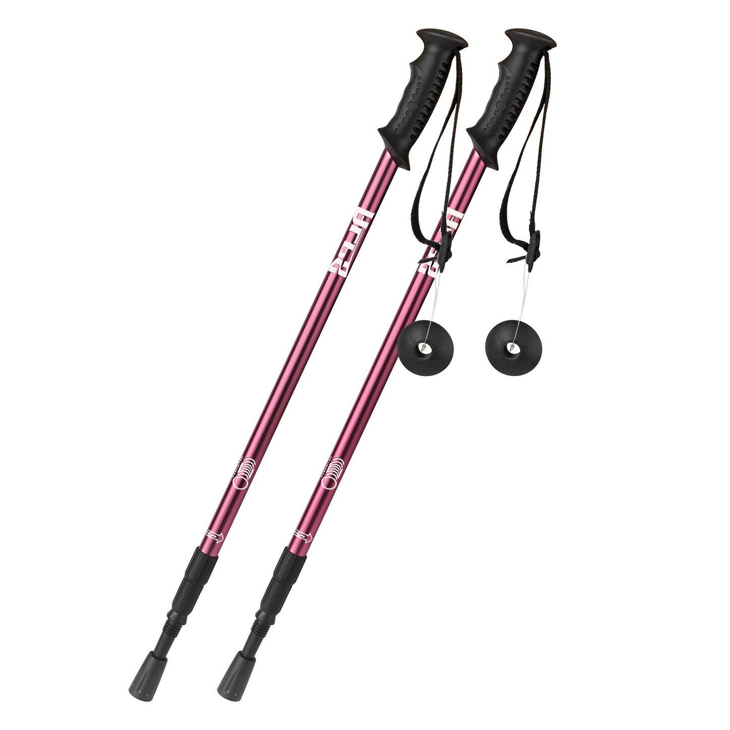 ALPS Pair Poles Walking Sticks 3-Section Adjustable