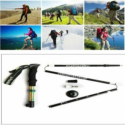 Foldable Sticks Alpenstock Adjustable Z