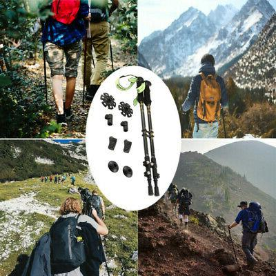 Pair Trekking Hiking Sticks Anti-Shock MA
