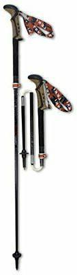 Portable 3-Section Folding Trekking Poles w/ Cork Grip for H