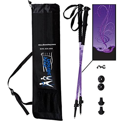 purple haze hiking walking poles
