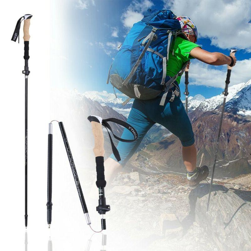Trekking poles Aluminum 7075 Hiking poles walking sticks wit