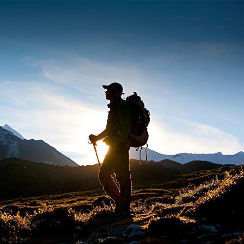 Crown Goods Adjustable Trekking Hiking 43-Inch