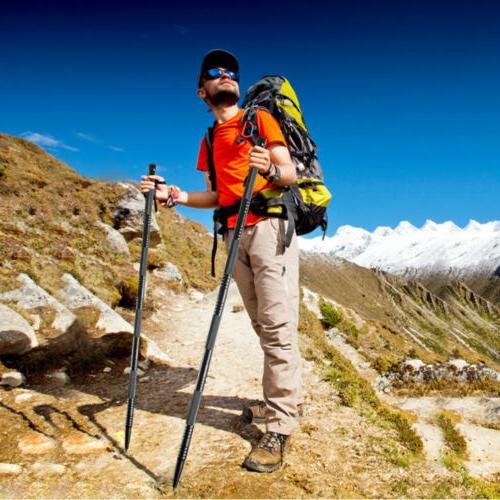 Lightweight Hiking & Sticks Alpenstock Trekking Poles