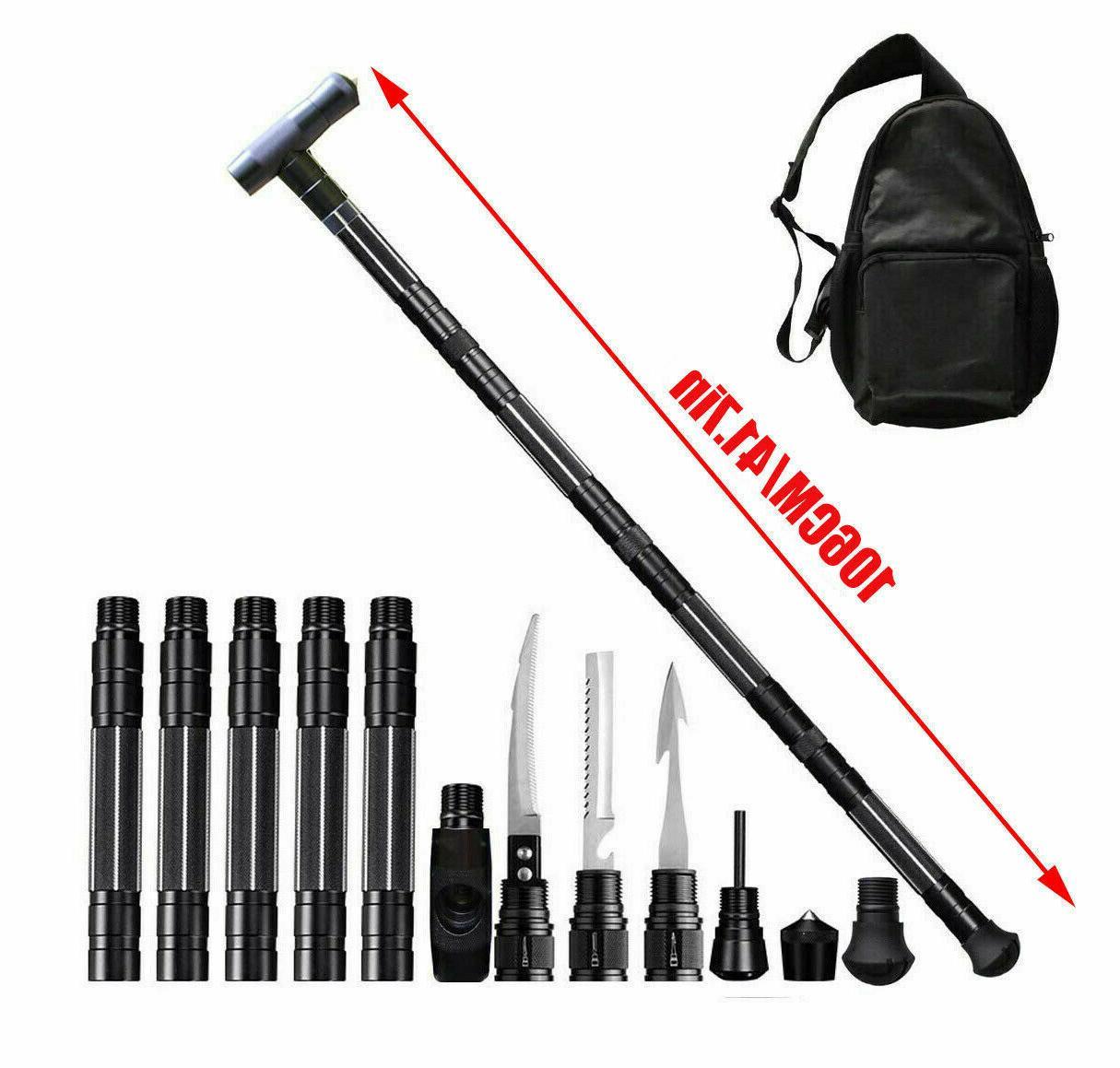 Tactical Poles Multifunction Alpenstock Stick