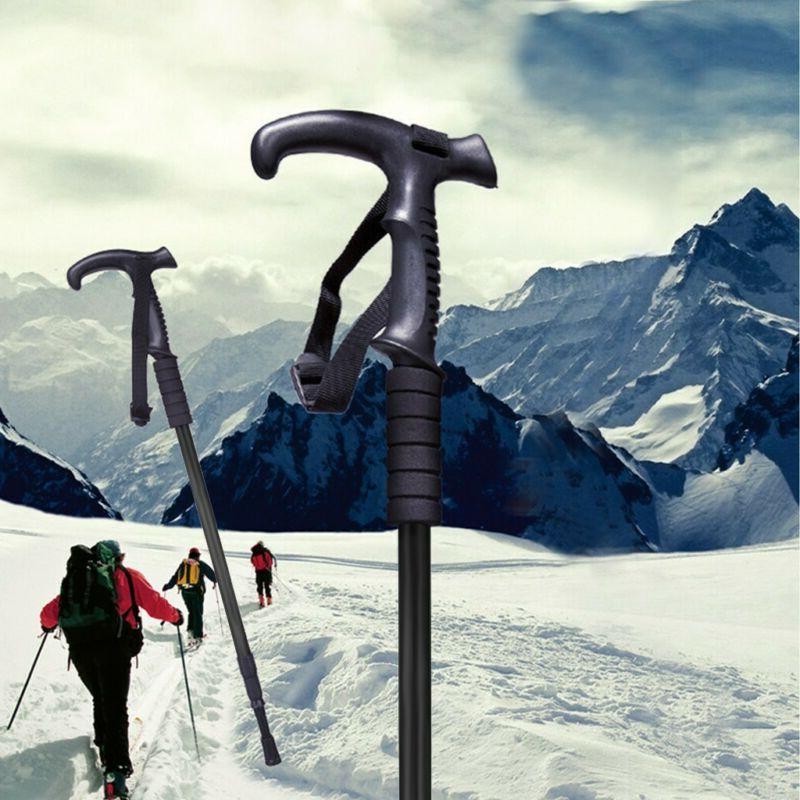 2PCS Hiking Stick Pole Length Anti-Shock